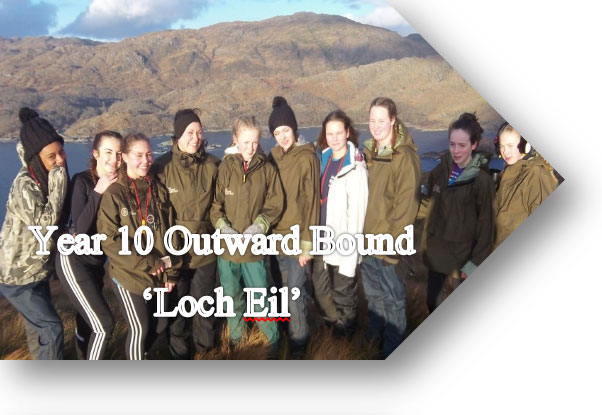 Outward Bound Year 10