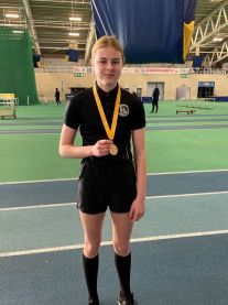 Athletics - Jess 1st in 60m hurdles Nov 2019.jpg